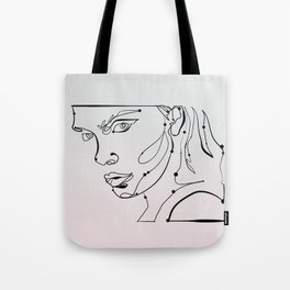 transparent like the eyes (letting everything go) Tote Bag