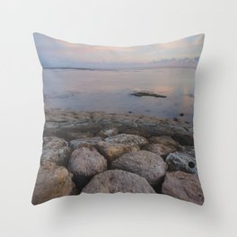 Sunset/Sanur Throw Pillow