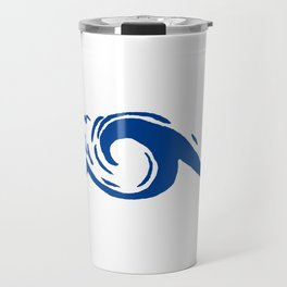Blue Tsunami Travel Mug