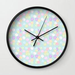Konpeito Sugar Stars (Pastel Blue) Wall Clock