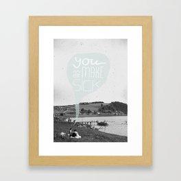 Dispute Framed Art Print