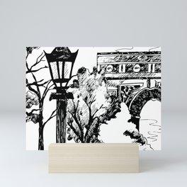 On the way to the Triumph! Mini Art Print