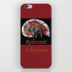 Relevant Elephant iPhone Skin