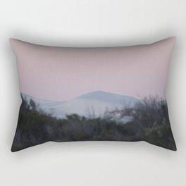 Sunset and Sand Dune Rectangular Pillow