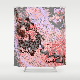 Life on the rock Shower Curtain