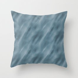 Abstract Blend Motion Blur Parable to Behr Blueprint S470-5 COTY 2019 Throw Pillow