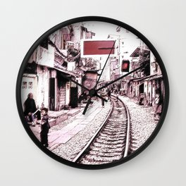 The train is coming soon.... Wall Clock
