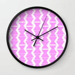 RIGHT AND WRONG II: PINK AGAIN Wall Clock