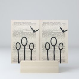Quidditch! Mini Art Print