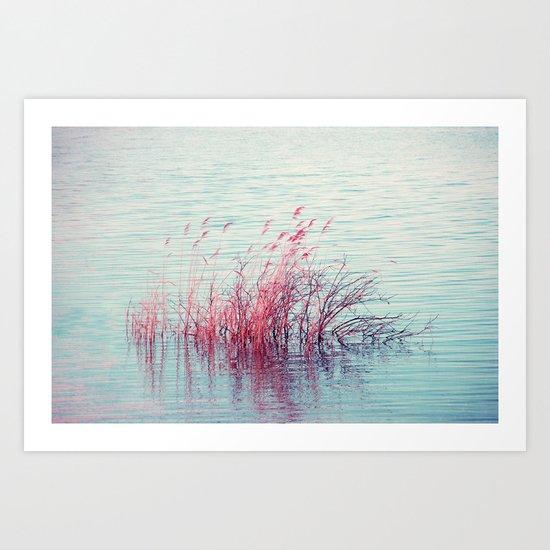 flowing Art Print