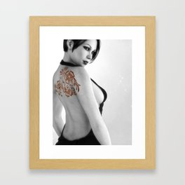 Sexy Back Framed Art Print
