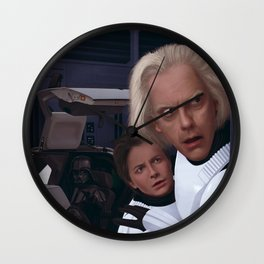 I Find Your Lack Of Jiggawatts Disturbing Wall Clock