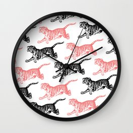 Tiger 3 Wall Clock