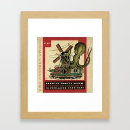 Yikes! Framed Art Print