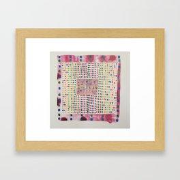 interface zero/zero Framed Art Print