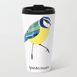 Blue Tit Bird Travel Mug