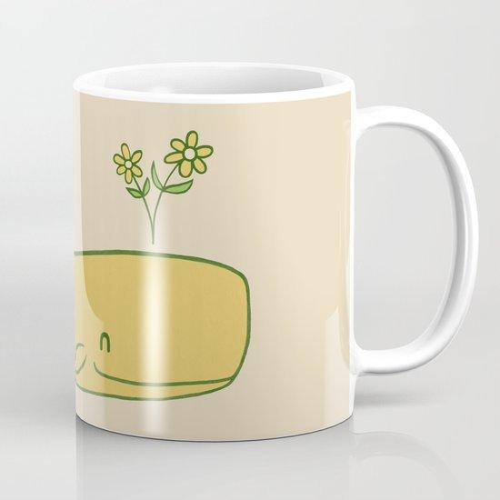 Peace Whale - colour option Mug
