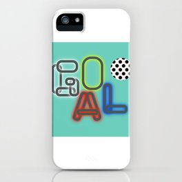 GOAL iPhone Case