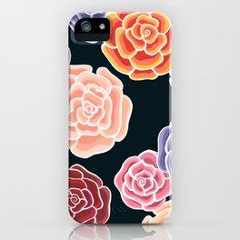 rosy days iPhone Case