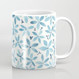 Blue Bouquet Coffee Mug