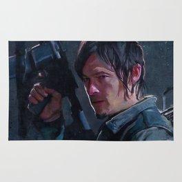 Daryl Dixon Night Watch - The Walking Dead Rug