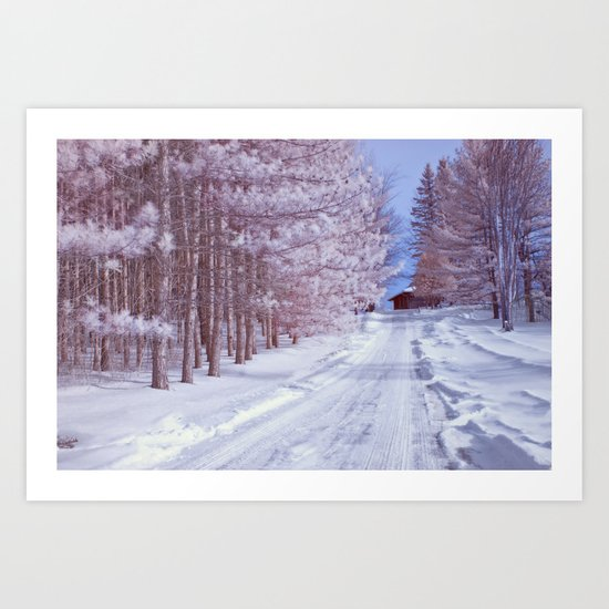 BABY IT'S COLD OUTSIDE II Art Print
