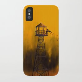Autumn Tower iPhone Case