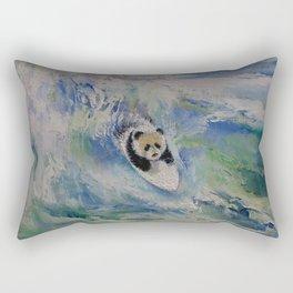Panda Surfer Rectangular Pillow