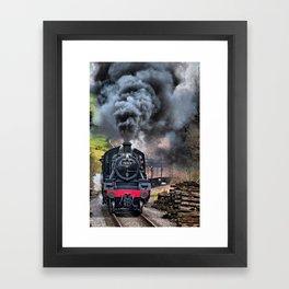 78019 Steam Train Framed Art Print