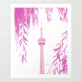 CN Tower II Art Print