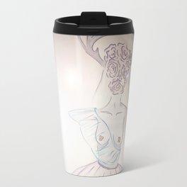 in flower Travel Mug