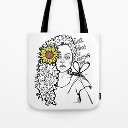 #STUKGIRL QUEEN Tote Bag