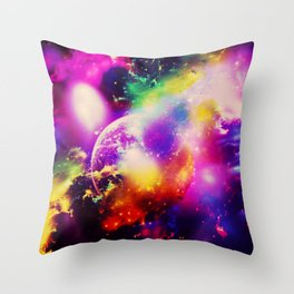 Space fun v Throw Pillow