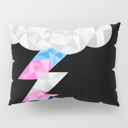 Transgender Storm Cloud Pillow Sham