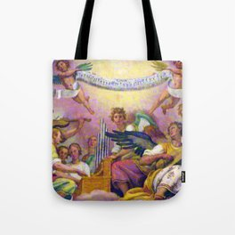 Angels in Rome Tote Bag