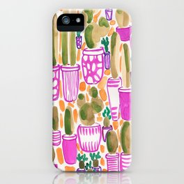 Sorority Plants iPhone Case
