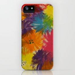 Raising Wildflowers iPhone Case