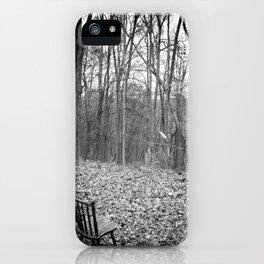 Sitting in Solitude iPhone Case