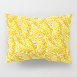 Extremly juicy orange slices Pillow Sham