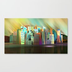 City of Color Canvas Print