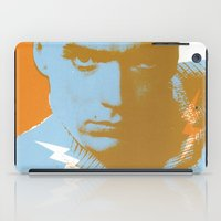 clint barton iPad Cases featuring clint by zemoamerica