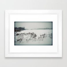 Chilled Evening Framed Art Print