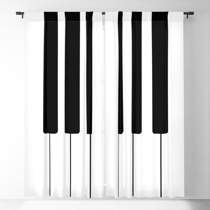 Piano Keys - Music Blackout Curtain by roxart