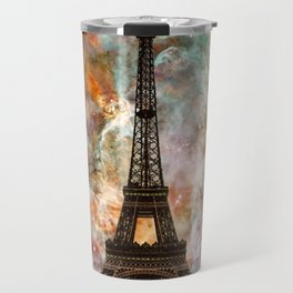 The Eiffel Tower - Paris France Art By Sharon Cummings Travel Mug