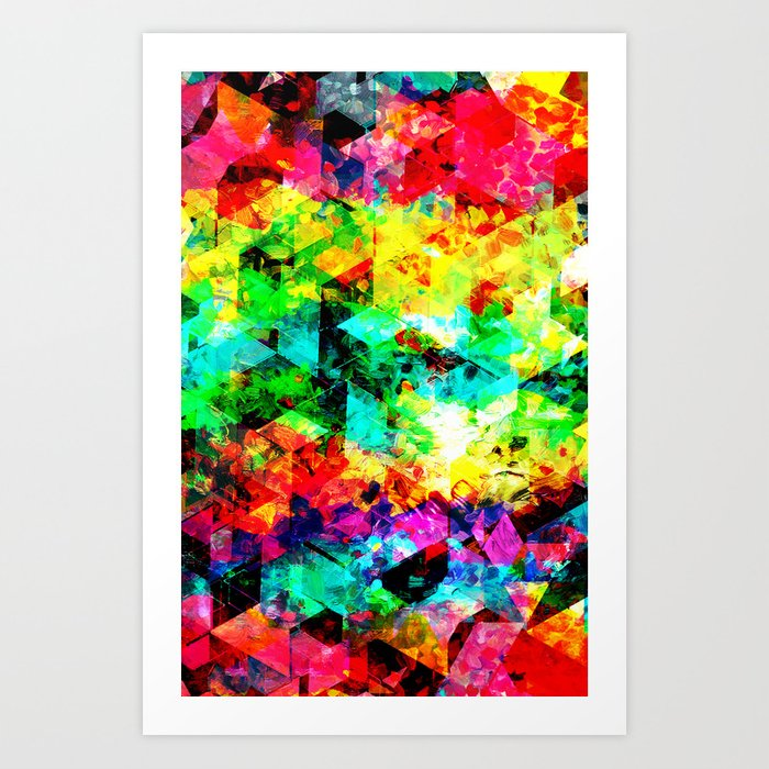 Inside a Rainbow Art Print