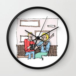 Trad Irish Music  Wall Clock