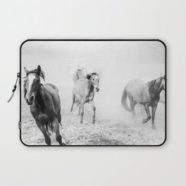 Running with the horses Laptop Sleeve