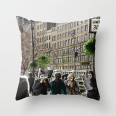 Pursuit Throw Pillow