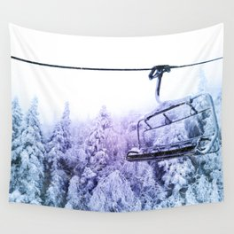 chairlift Wall Tapestry