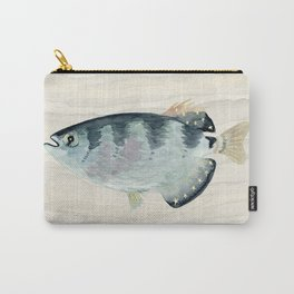 Patriot Fish Swimming in Troubled Waters Carry-All Pouch